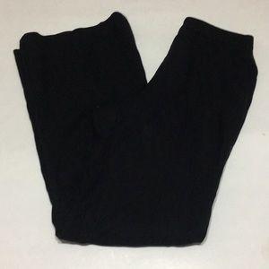 Banana Republic lined black trousers